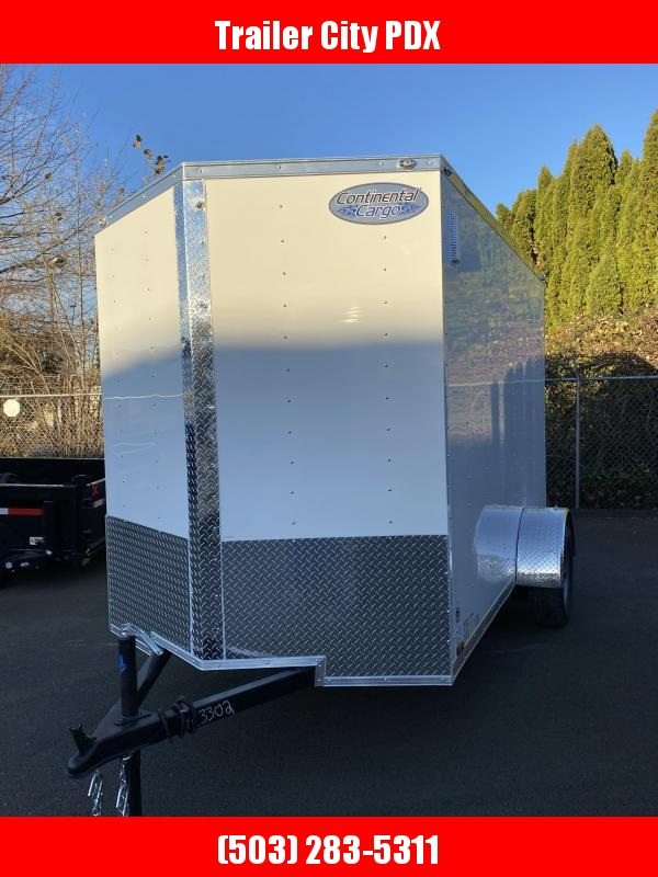 2021 Continental Cargo 6X10 3K RAMP V-SERIES TALL Enclosed Cargo Trailer
