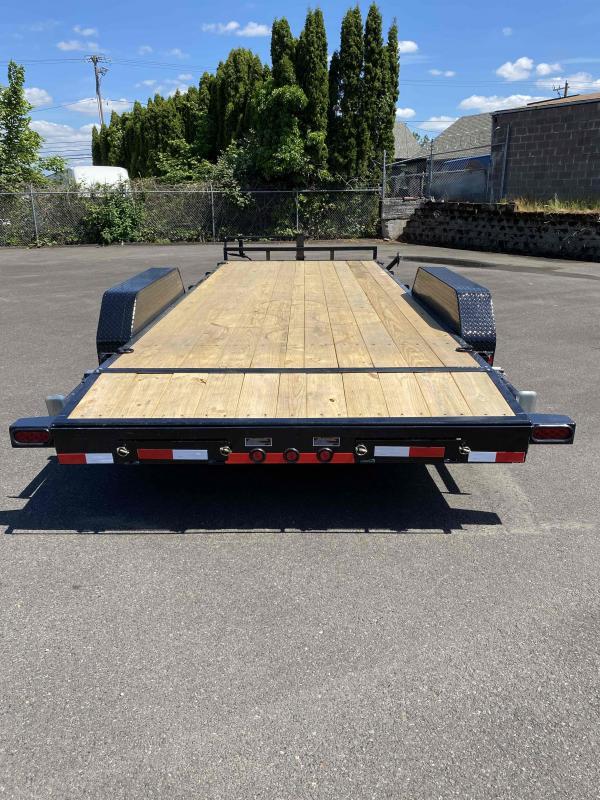 Load Trail 7 X 20 14K Carhauler Flatbed Trailer