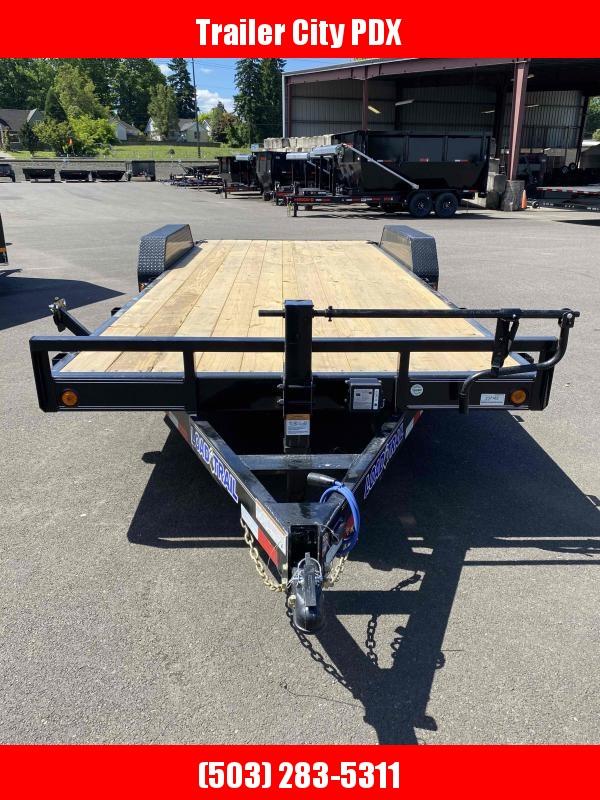 Load Trail 7 X 20 14K Carhauler Flatbed Trailer w/ Slide-In Ramps