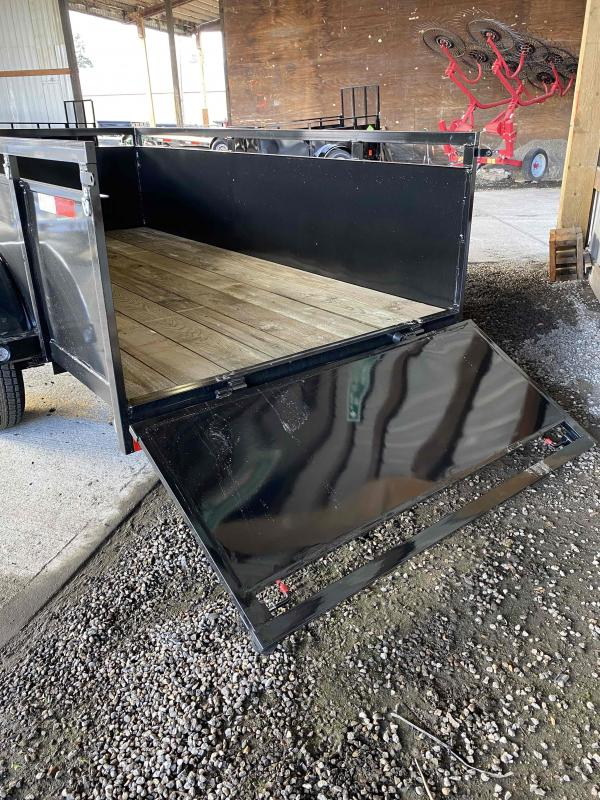 2021 Fabform 5X10 3K DROP DOWN GATE REMOVABLE Utility Trailer