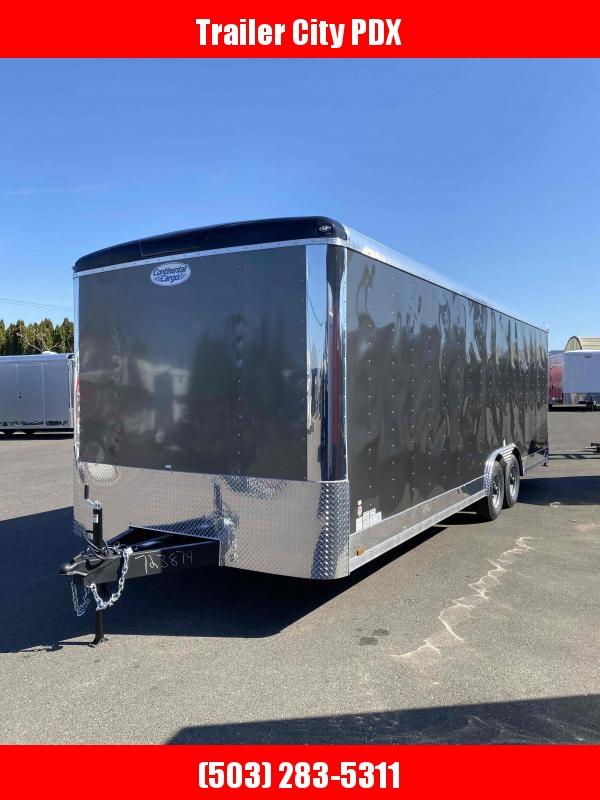 2021 Continental Cargo 8.5 X 24 10K RAMP TALL METALLIC CHARCOAL Enclosed Cargo Trailer