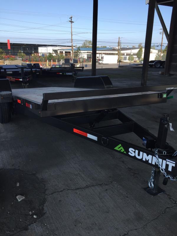 "Summit 7X18 10K FLATBED CASCADE 5"""