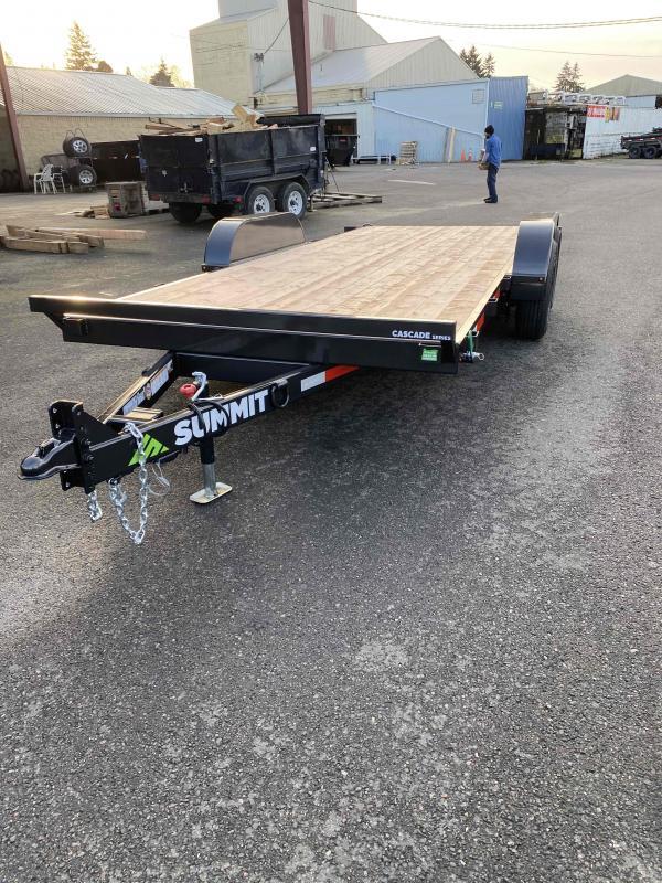 """Summit 7X18 10K TILT FLATBED CASCADE 5"""""""