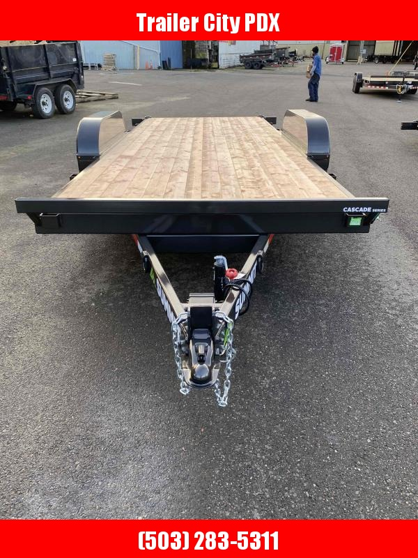 2021 Summit 7x18 10k tilt flatbed t/a cascade 5 in.