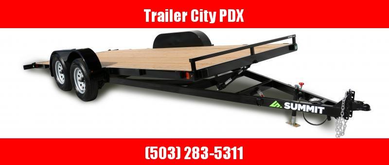 2021 Summit 7X16 TILTBED 7K CASCADE SUMMIT Flatbed Trailer