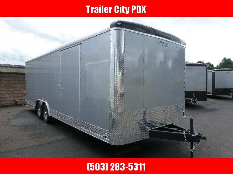 2020 Continental Cargo 8 X 24 10K RAMP TALL DIAMOND ICE Enclosed Cargo Trailer