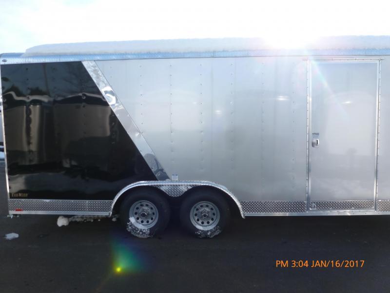2020 Continental Cargo 8 X 20 10K RAMP 2 TONE WIDE Enclosed Cargo Trailer