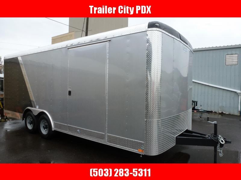 2020 Continental Cargo 8 X 20 10K RAMP 2 TONE WIDE Enclosed Cargo Trailer