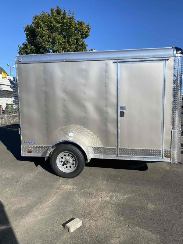 2022 Continental Cargo 6 X 10 3K TALL RAMP CHAMPAGNE BEIGE Enclosed Cargo Trailer