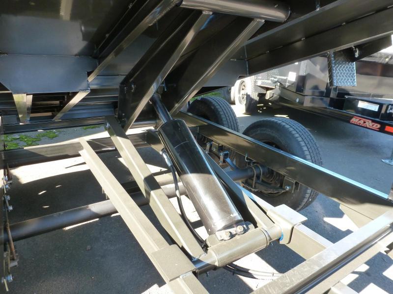 "2020 MAXXD D6X -10' X 60"" 7K Scissor Lift Dump Trailer Dump Trailer"
