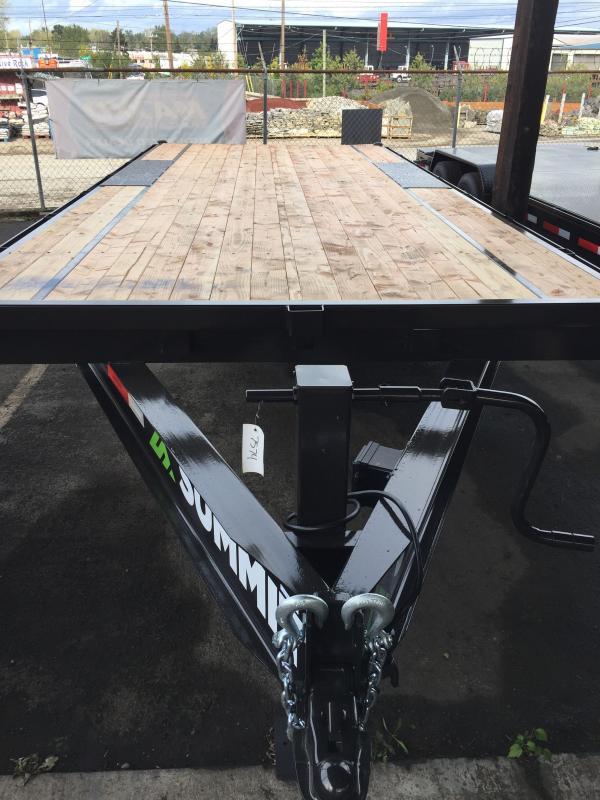 2021 Summit 8.5 X 20 14K Denali Pro Series Deckover 14K Equipment Trailer