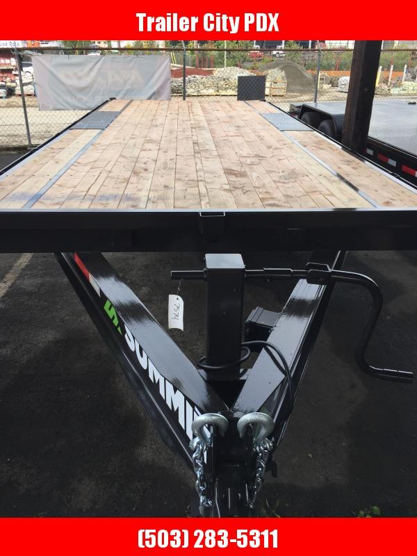 2021 Summit 8.5 X 20 14K Denali Pro Series Deckover Equipment Trailer