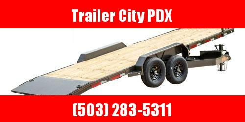 "2021 MAXXD 24' X 102"" T8X - 8"" Power Equipment Tilt Trailer Flatbed Trailer"
