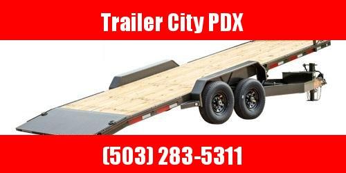 "2021 MAXXD 24' X 102"" T8X - 8"" Power Equipment Tilt Trailer Flatbed Trailer"