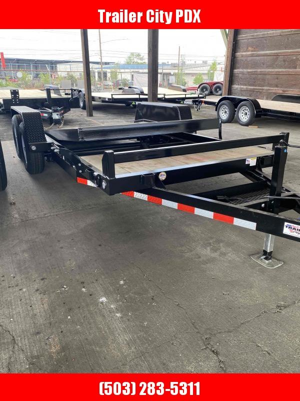 2021 Fabform 18ft split deck tilt Flatbed Trailer