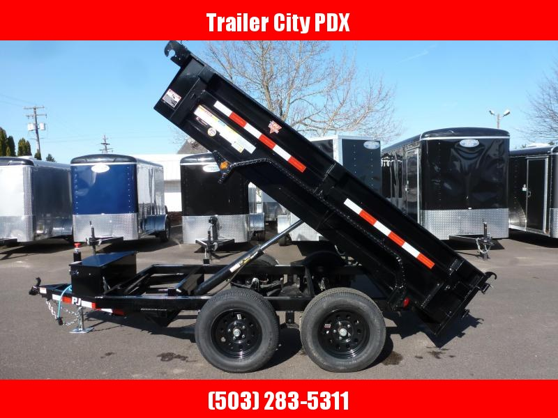 2021 PJ Trailers 5 X 10 7K UTILITY DUMP Trailer