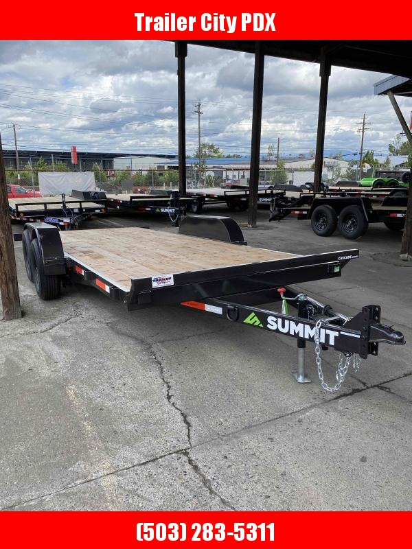 Summit C5TB718TA3 Flatbed Trailer