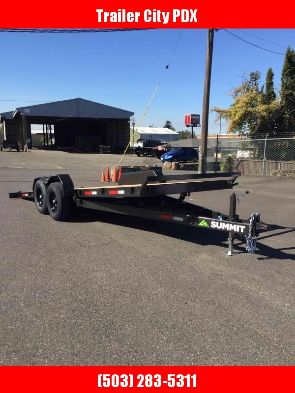 "2020 Summit Cascade Series 6"" Tiltbeds 14K Utility Trailer"