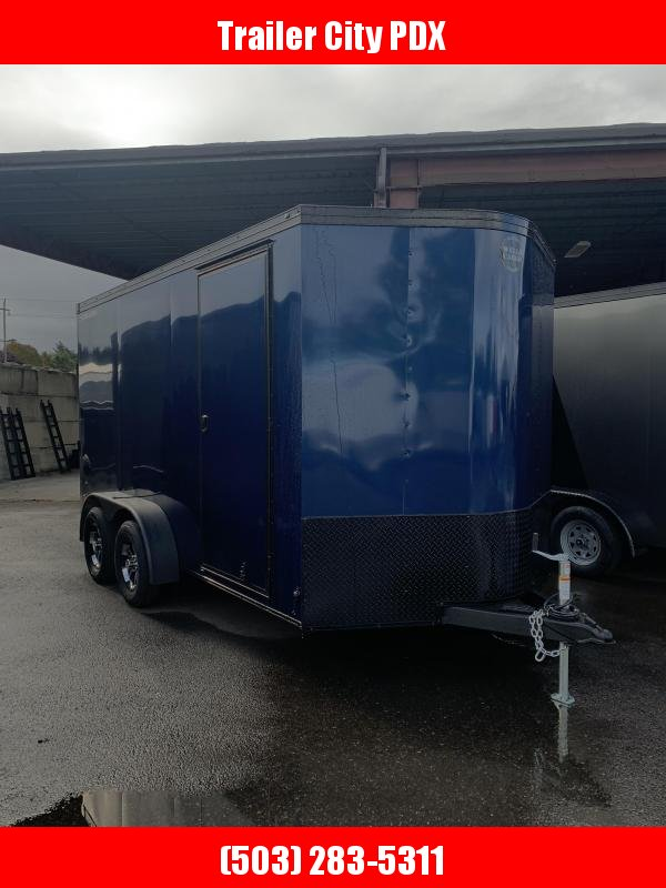 2021 Wells Cargo RFV 7x14 T2 Indigo Blue Enclosed Cargo Trailer