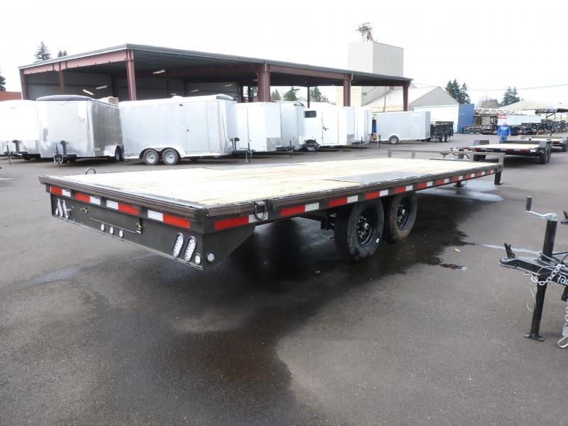 MAXXD DOX - 20 X 102 14K I-Beam Deck Flatbed Trailer