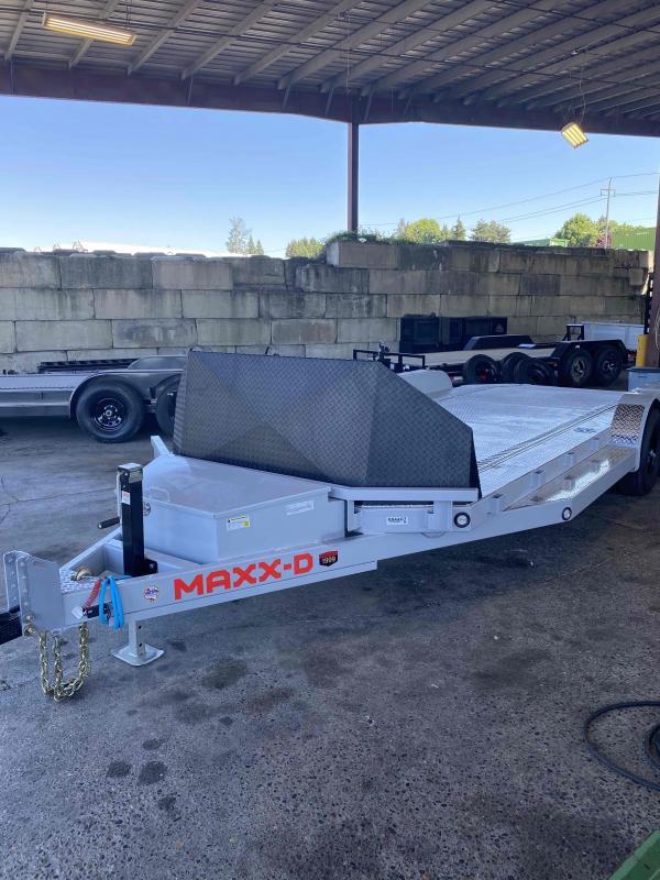 "2021 MAXXD N6X - 6"" Tube Frame Car Trailer Flatbed Trailer"