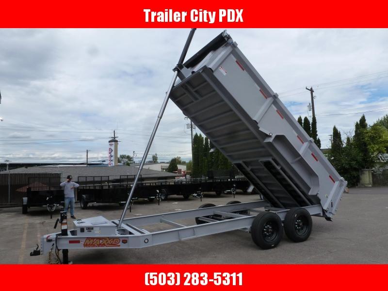 2020 MAXXD DTX 7x14K Telescoping Dump Trailer 17.5k Dump Trailer