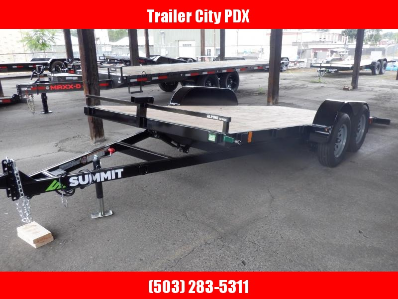 2020 Summit 7 X 16 7K TILTBED ALPINE  Utility Trailer