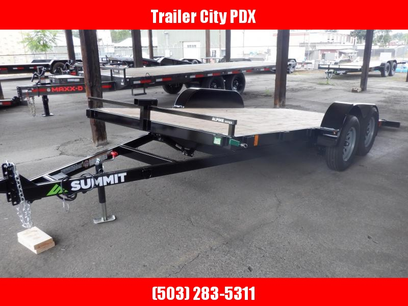 Summit 7 X 16 7K TILTBED ALPINE  Utility Trailer