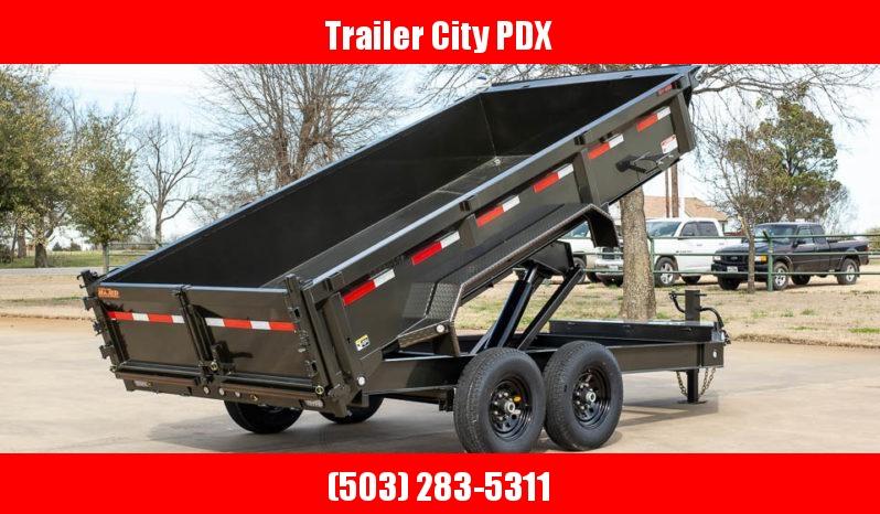 "2021 MAXXD 14' X 83"" DJX - I-Beam Dump Trailer Dump Trailer"