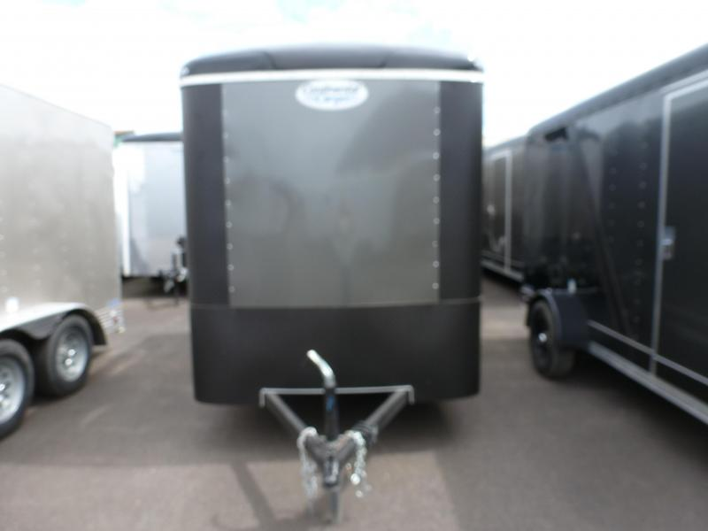 2020 Continental Cargo 6 X 10 3K TALL RAMP 2 TONE CHAR.BLACK. Enclosed Cargo Trailer