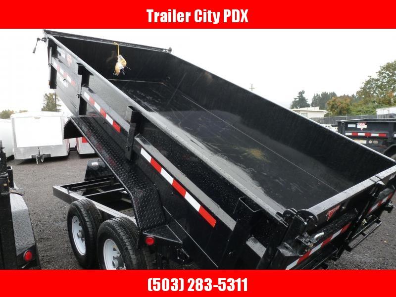 2021 PJ Trailers 7 X 14 14K LOW PRO DUMP Dump Trailer