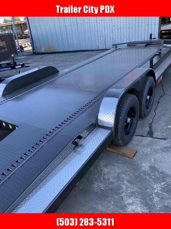 MAXXD 7 X 22 10K CARHAULER Flatbed Trailer