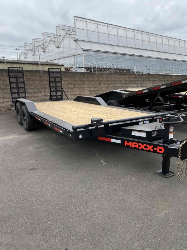 "2021 MAXXD 8.5 X 20 14K 6"" Channel Buggy Hauler Equipment Trailer"