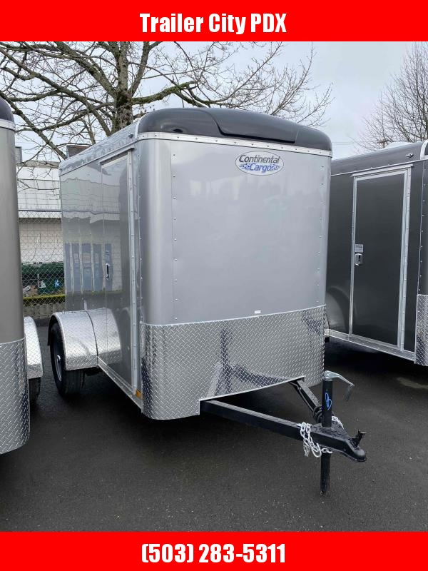 2021 Continental Cargo 5x 8 3k RAMP SUPER TALL DIAMOND ICE Enclosed Cargo Trailer