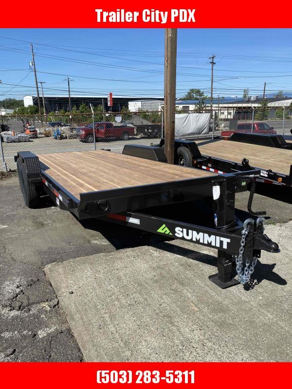Summit 7 X 18 14K FLATBED Flatbed Trailer