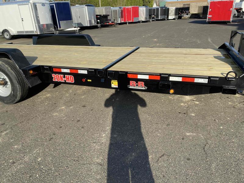 BENKE B-B 20K Flatbed Tilt