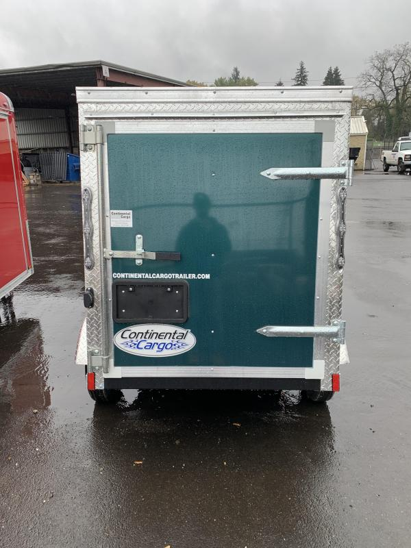 2021 Continental Cargo VHW 4X6 3K Enclosed Cargo Trailer