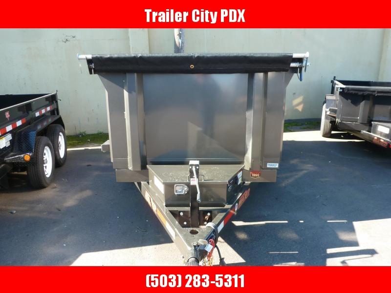 2020 MAXXD D6X  5X 10' 10K Scissor Lift Dump Trailer