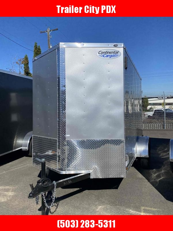 Continental Cargo 6 X 10 3K CARGO TALL DIAMOND ICE Enclosed Cargo Trailer