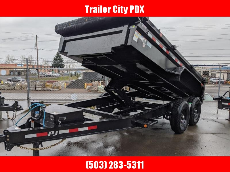 2020 PJ Trailers 14' x 83 in. 14k Low Pro Dump (DL) TRAILER