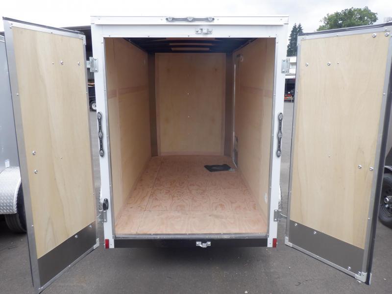 2020 Continental Cargo 5 X 10 RAMBLER WHITE SUPER TALL WHITE Enclosed Cargo Trailer