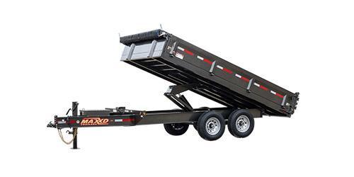 "MAXXD D9X - 96"" Deckover Dump Trailer Dump Trailer"