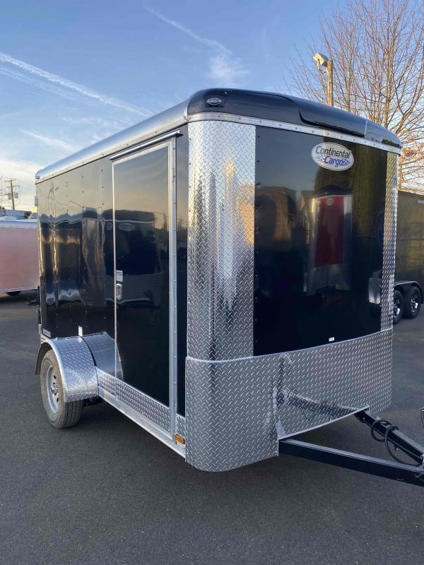 2021 Continental Cargo 6X10 3K BLACK TALL CARGO Enclosed Cargo Trailer