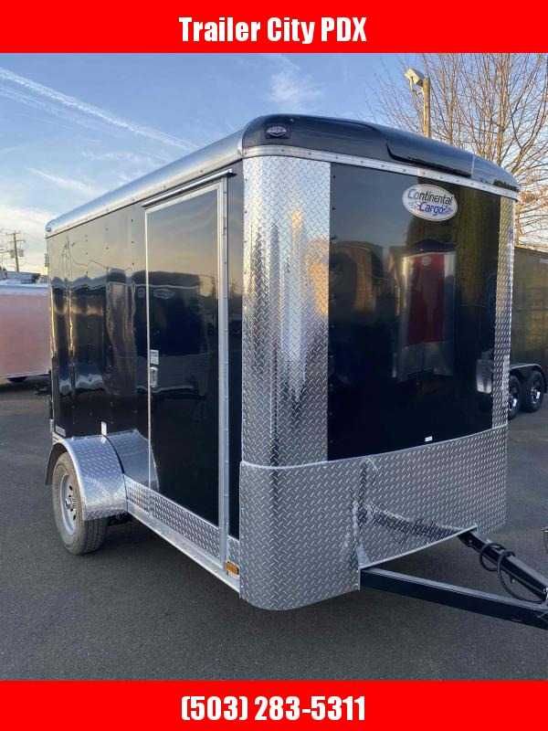 2021 Continental Cargo 6X10 3K BLACK TALL CARGO Enclosed Cargo Trailer
