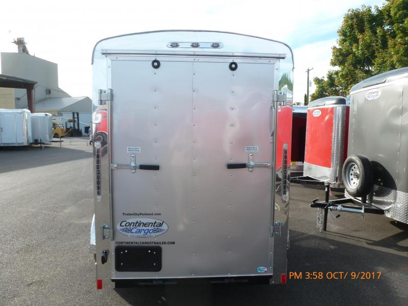 2021 Continental Cargo 5X10 3K SUPER TALL RAMP DIAMOND ICE Enclosed Cargo Trailer