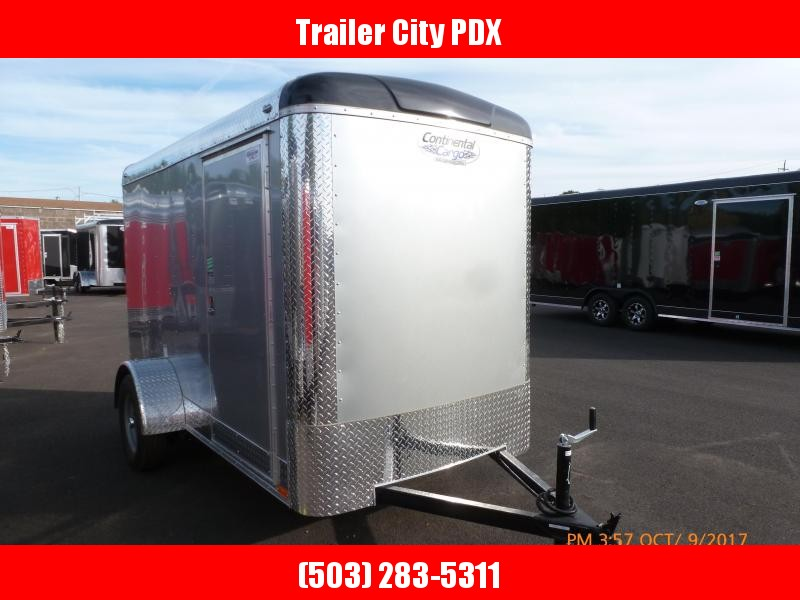 2021 Continental Cargo 5X10 3K SUPER TALL RAMP DIAMOND ICE Enclosed Cargo Trailer