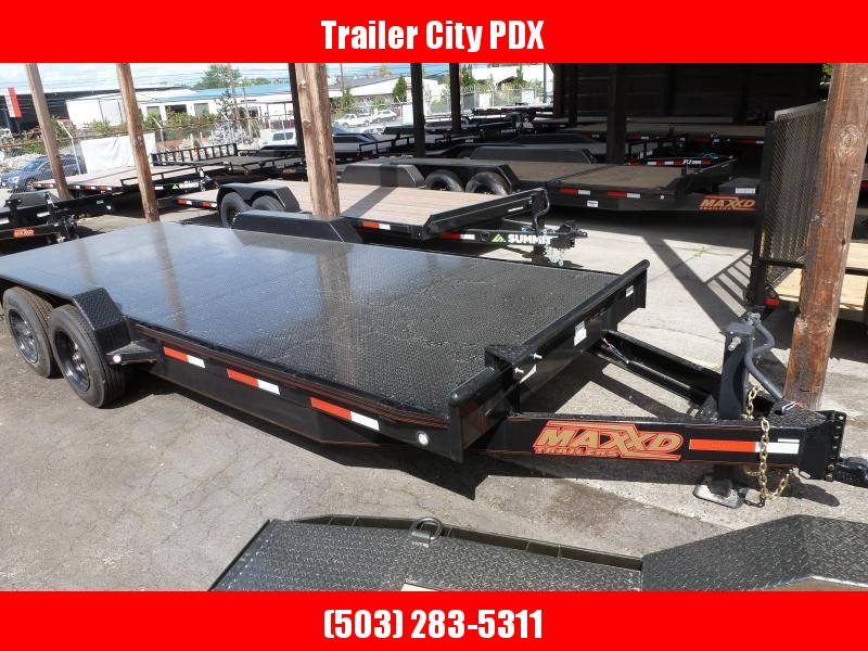 2020 MAXXD 7 X 20 14K HD CHANNEL CARHOULER Flatbed Trailer