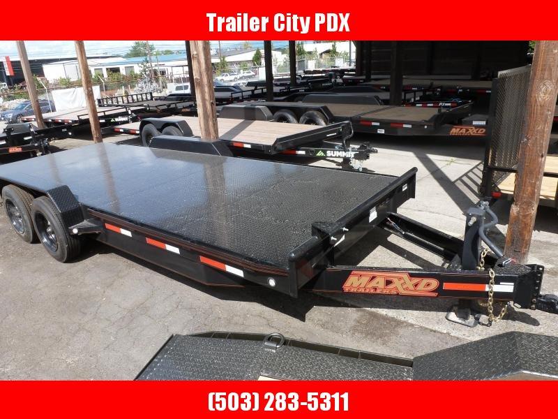 2020 MAXXD 7 X 20 14K HD CHANNEL CARHOULER Flatbed Trailer