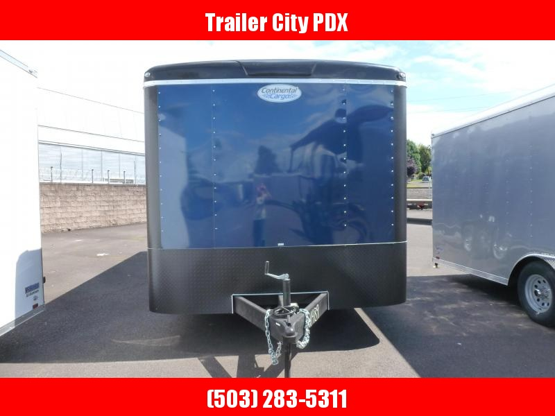 2020 Continental Cargo 8 x 20 10k CARHAULER RAMP INDIGO BLUE Enclosed Cargo Trailer
