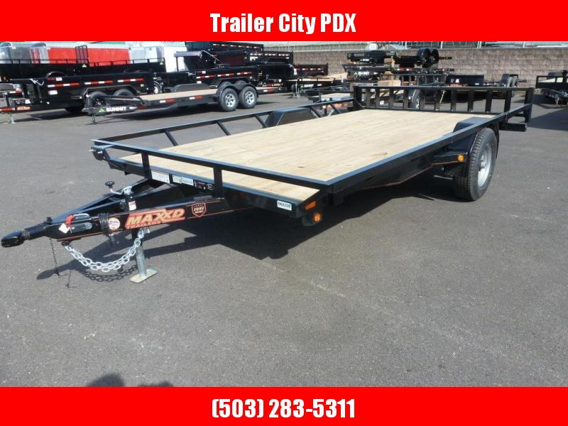 "MAXXD 83""X14 5K Single Axle ATV Trailer w/Brakes"